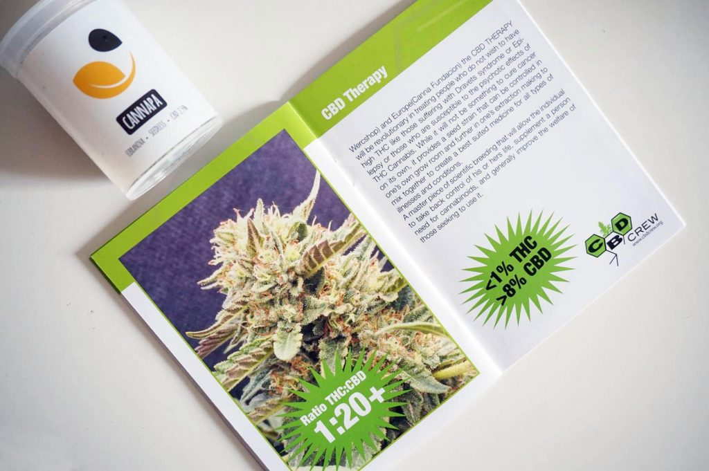 Cannabis Light - CBD Therapy - CBD Crew Catalogo