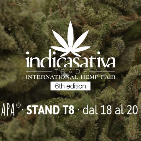 Cannapa all'Indica Sativa Trade 2018 dal 18 Maggio