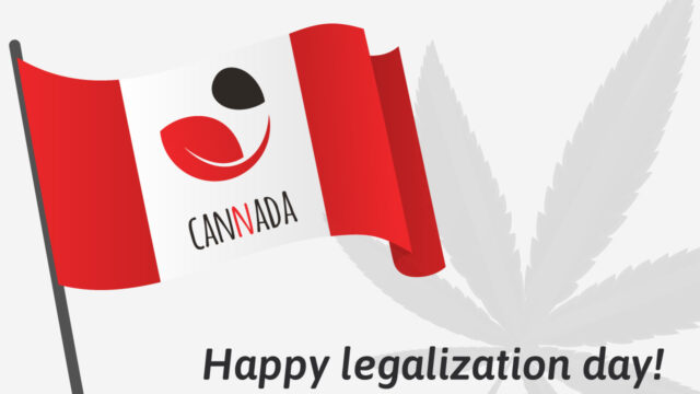 Legalization Day: in CANADA l'erba è libera!